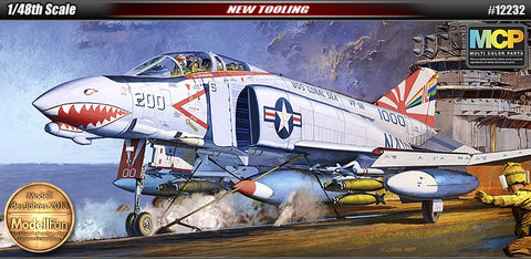 "1/48 F-4B ""VF-111 Sundowners"" Phantom II Plastic Model Kit"