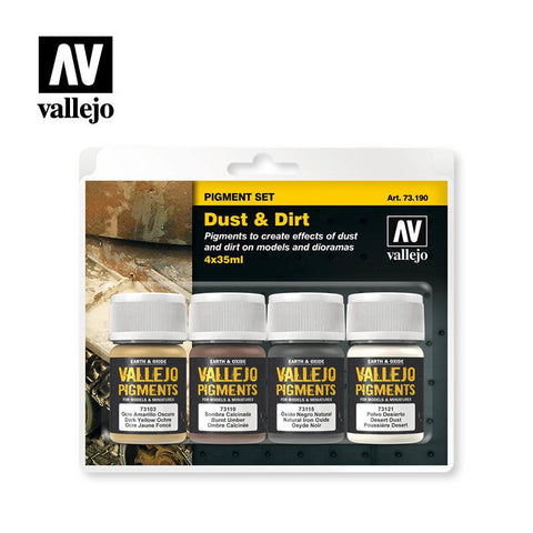 MODEL COLOUR DUST AND DIRT 4 X35ML
