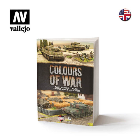 Colours of War book - Painting WWII & WWIII miniatures