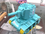 WWP PINKY WORLD WAR TOONS: SOVIET HEAVY TANK KV-2 (MINT GREEN VER.)