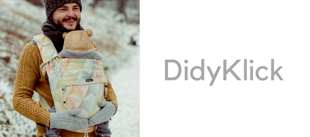 DidyKlick by Didymos - a Versatile New Baby Carrier