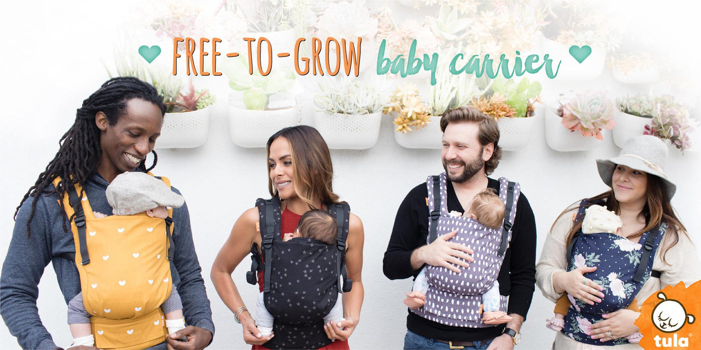 95405e891ec Giveaway  Tula Free to Grow + Didymos Woven Wrap Baby Carriers ...