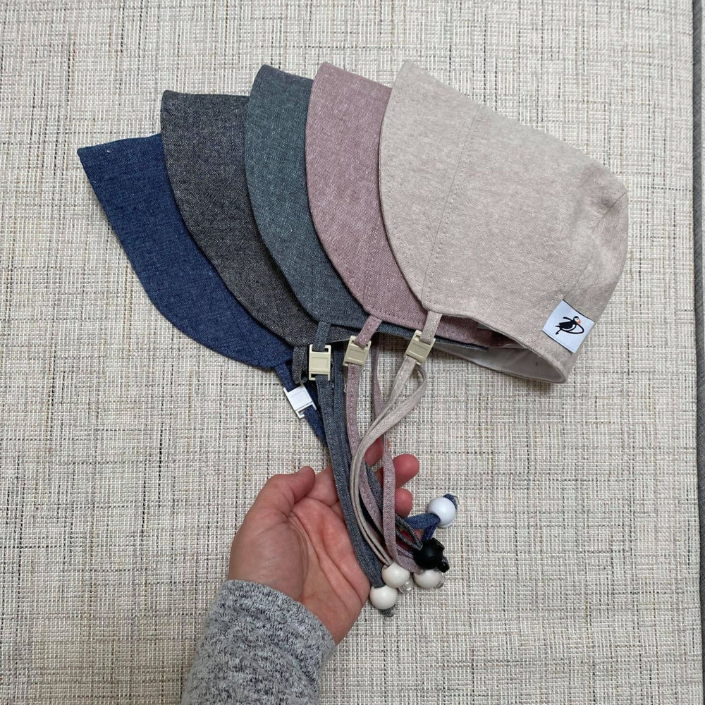 Linen Cool Weather Bonnet Collection