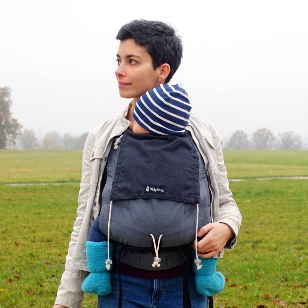 Didymos Buckle Carrier DidySnap Doubleface Anthracite