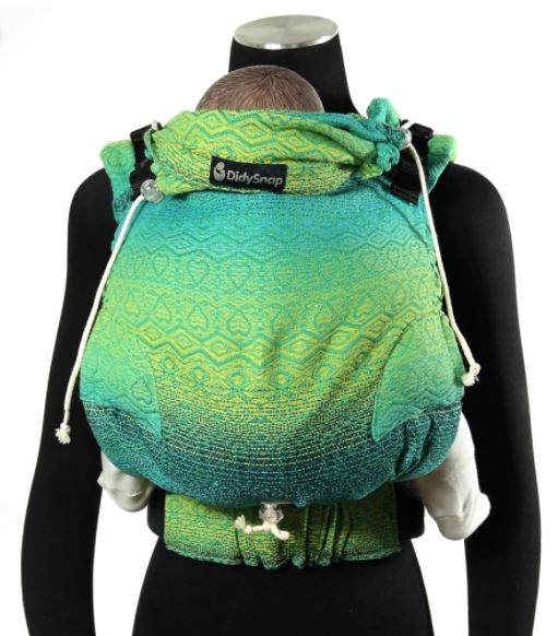 Didymos Buckle Carrier DidySnap Hearts Malachite