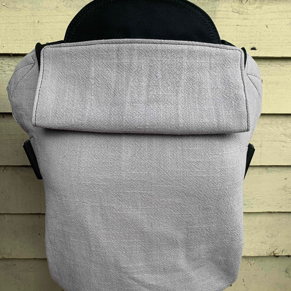 Integra Baby Carrier Silver Linen