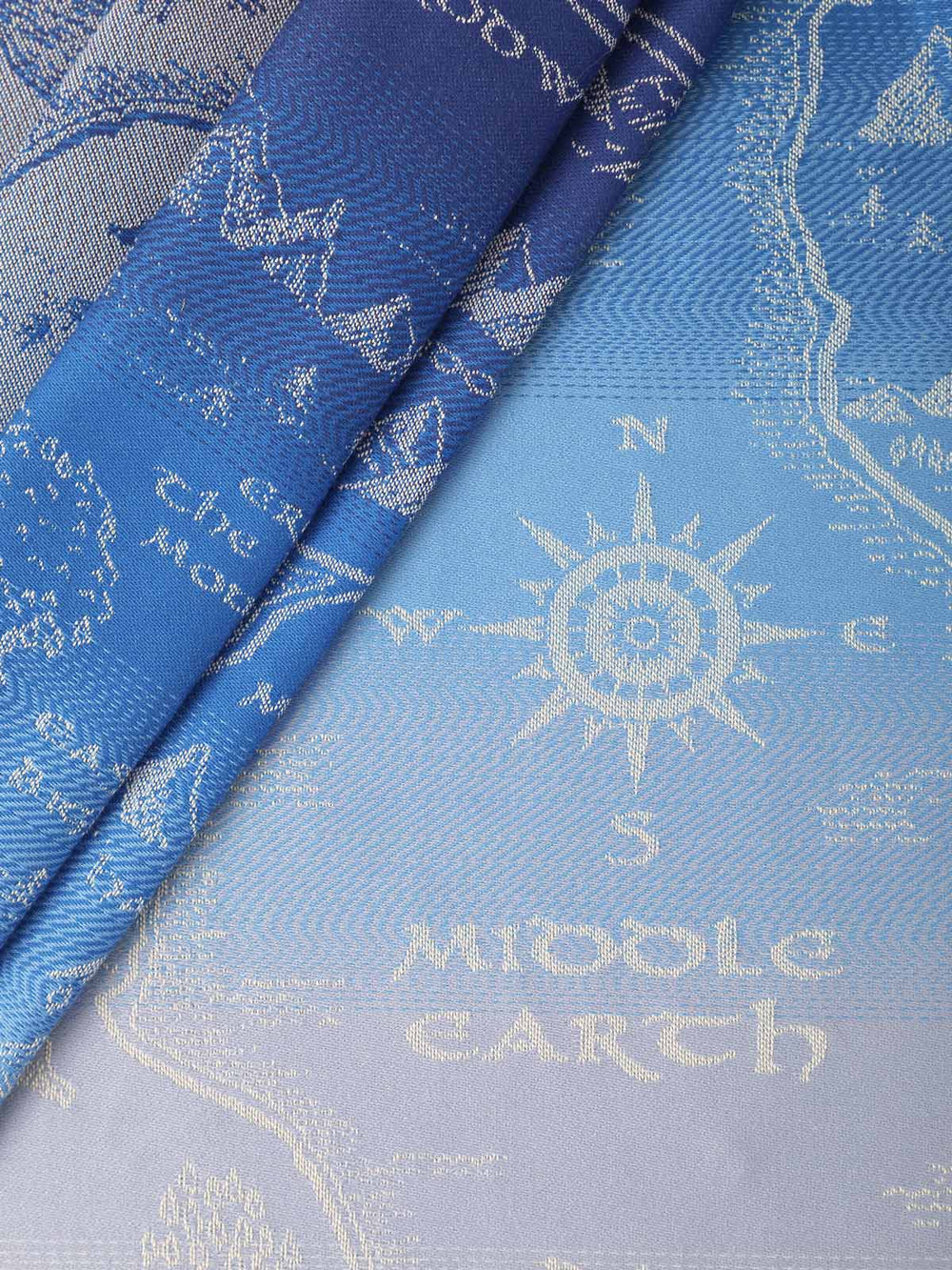 Oscha Slings Map of Middle Earth Aduial Baby Wrap