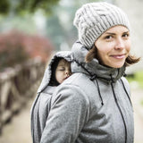 Angel Wings Babywearing Softshell Parka-Babywearing Outerwear-Angel Wings- Little Zen One US Babywearing baby carriers