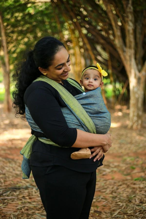 Backwaters Woven Wrap Soul Slings-Woven Wrap-Soul Slings- Little Zen One US Babywearing baby carriers