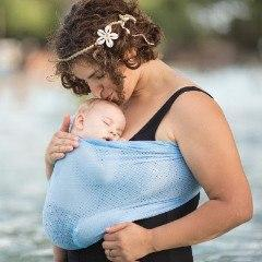 Beachfront Baby Recycled Water Ring Sling-Water Carrier-Beachfront Baby- Little Zen One US Babywearing baby carriers