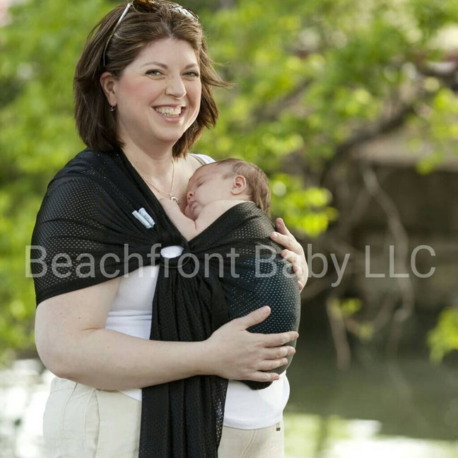 Beachfront Baby Water Ring Sling Midnight Sky-Water Carrier-Beachfront Baby- Little Zen One US Babywearing baby carriers