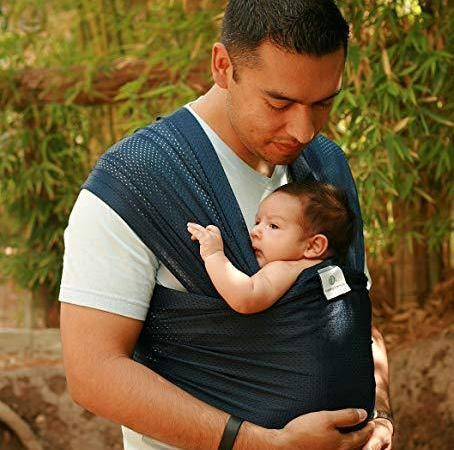 Beachfront Baby Water Wrap Navy Blue-Water Carrier-Beachfront Baby- Little Zen One US Babywearing baby carriers