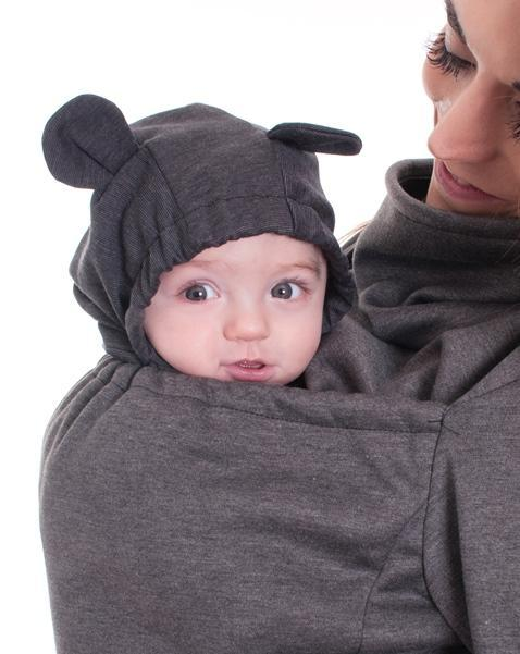 Belly Bedaine Baby Hood Bear-Babywearing Accessories-Belly Bedaine- Little Zen One US Babywearing baby carriers
