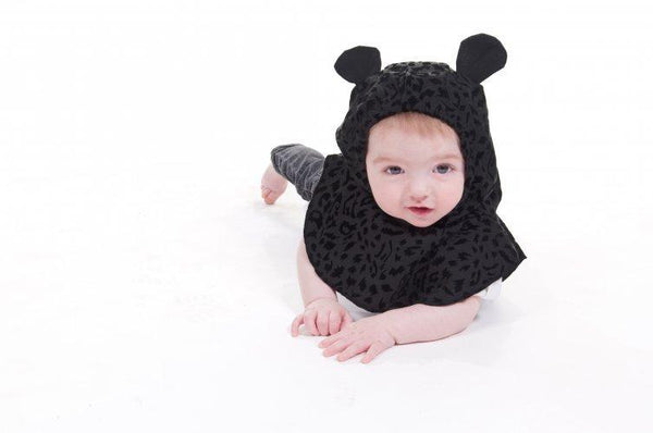 Belly Bedaine Baby Hood Panther-Babywearing Accessories-Belly Bedaine- Little Zen One US Babywearing baby carriers
