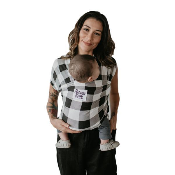 Beluga Baby Justine-Stretchy Wrap-Beluga Baby- Little Zen One US Babywearing baby carriers