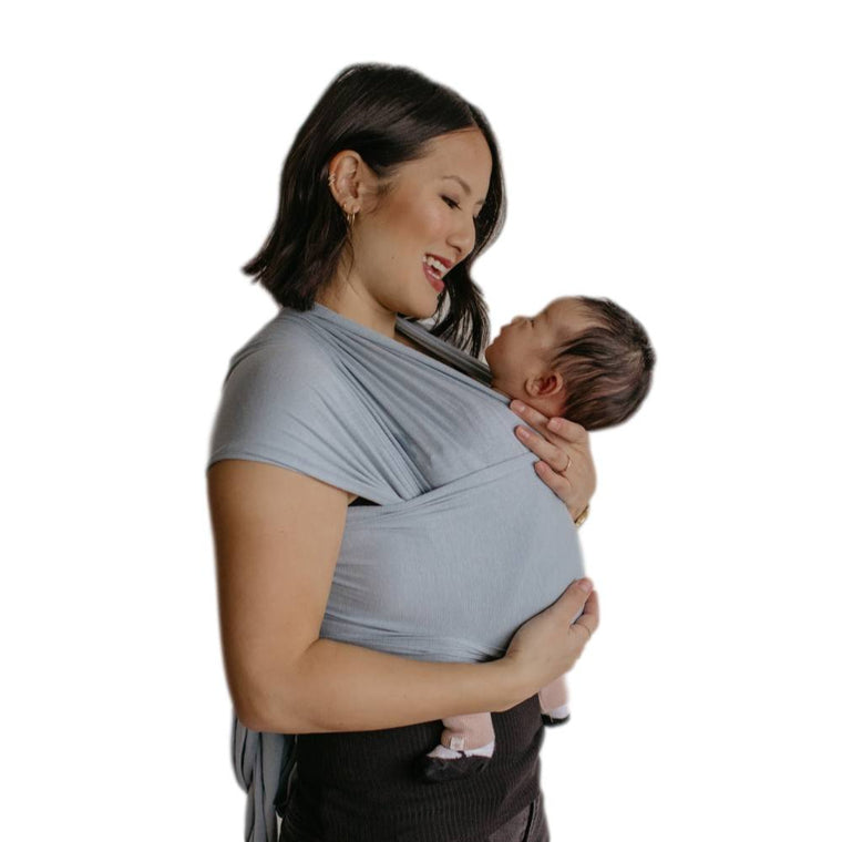 Beluga Baby The Bella-Stretchy Wrap-Beluga Baby- Little Zen One US Babywearing baby carriers