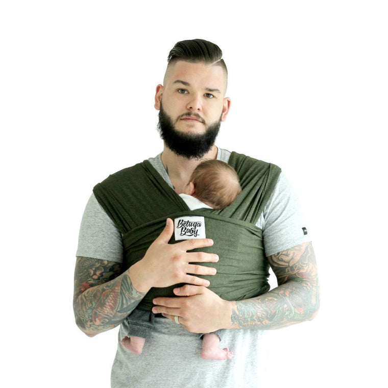 Beluga Baby The Jessica-Stretchy Wrap-Beluga Baby- Little Zen One US Babywearing baby carriers
