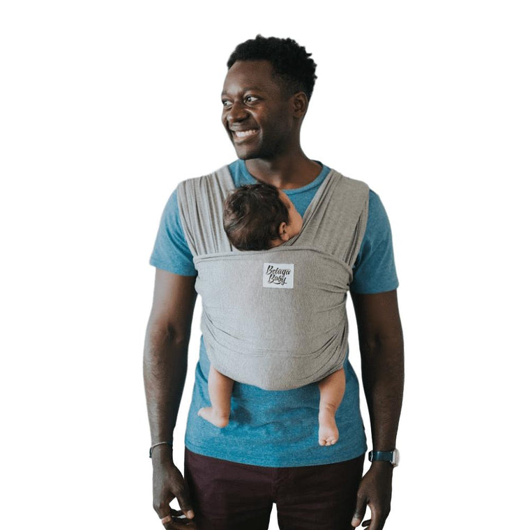 Beluga Baby The McKenzie-Stretchy Wrap-Beluga Baby- Little Zen One US Babywearing baby carriers