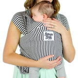 Beluga Baby Wrap The Lori-Stretchy Wrap-Beluga Baby- Little Zen One US Babywearing baby carriers