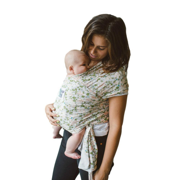 Beluga Baby Wrap The Ruth-Stretchy Wrap-Beluga Baby- Little Zen One US Babywearing baby carriers