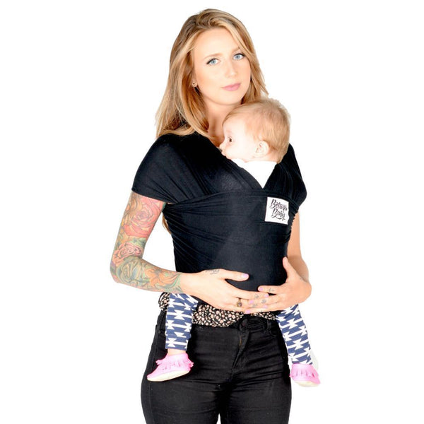 Beluga Baby Wrap The Sawyer-Stretchy Wrap-Beluga Baby- Little Zen One US Babywearing baby carriers