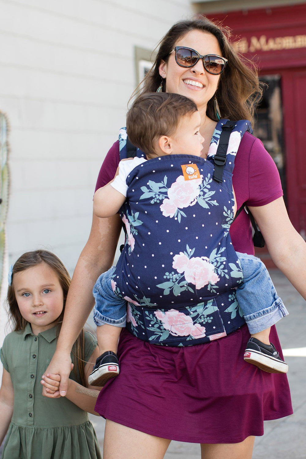 Blossom Tula Toddler Carrier-Buckle Carrier-Baby Tula- Little Zen One US Babywearing baby carriers