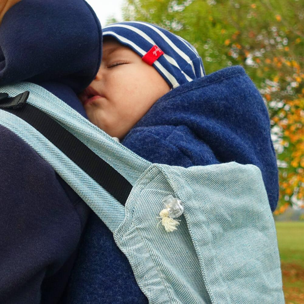 Buckle Carrier - Didymos Buckle Carrier DidySnap Ocean