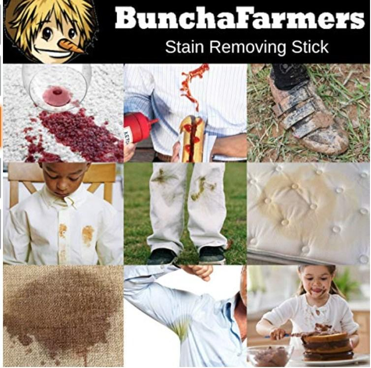 Buncha Farmers All Natural Stain Remover Stick-Babywearing Accessories-Buncha Farmers- Little Zen One US Babywearing baby carriers