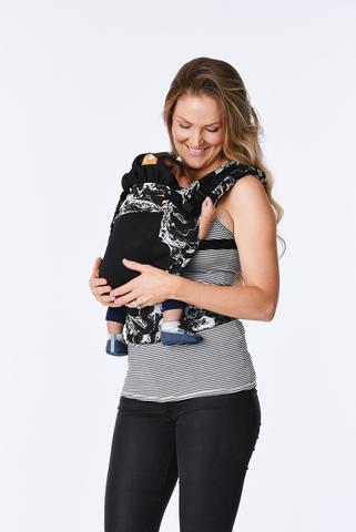 Coast Marble Tula Free-to-Grow Baby Carrier-Buckle Carrier-Baby Tula- Little Zen One US Babywearing baby carriers