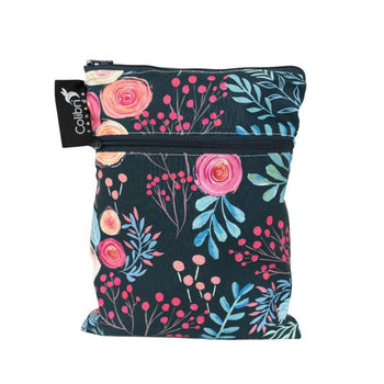 Colibri Roses Mini Double Duty Wet Bag-Babywearing Accessories-Colibri- Little Zen One US Babywearing baby carriers