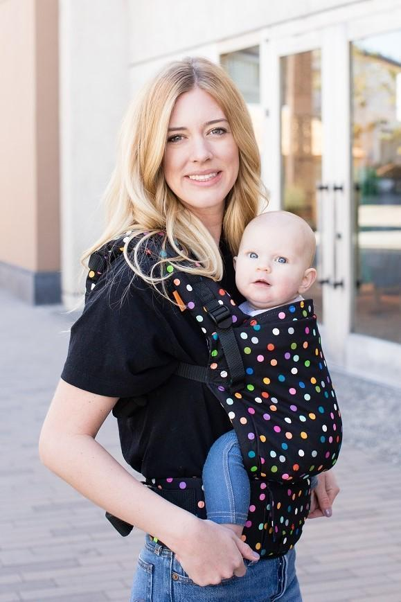 d2baa4dd24c Confetti Dot Tula Free-to-Grow Baby Carrier-Buckle Carrier-Baby Tula
