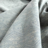 Didymos Baby Woven Wrap 1975 Mystic Silver Tussah Gold-Woven Wrap-Didymos- Little Zen One US Babywearing baby carriers