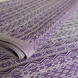 Didymos Baby Woven Wrap Ada Ultraviolet hemp linen-Woven Wrap-Didymos- Little Zen One US Babywearing baby carriers
