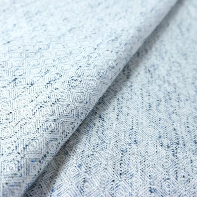 Didymos Baby Woven Wrap Blue Melange Quad-blend-Woven Wrap-Didymos- Little Zen One US Babywearing baby carriers