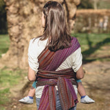 Didymos Baby Woven Wrap Blueberry Fall-Woven Wrap-Didymos- Little Zen One US Babywearing baby carriers