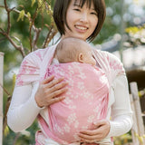Didymos Baby Woven Wrap Cherry Blossoms Yayoi silk-Woven Wrap-Didymos- Little Zen One US Babywearing baby carriers