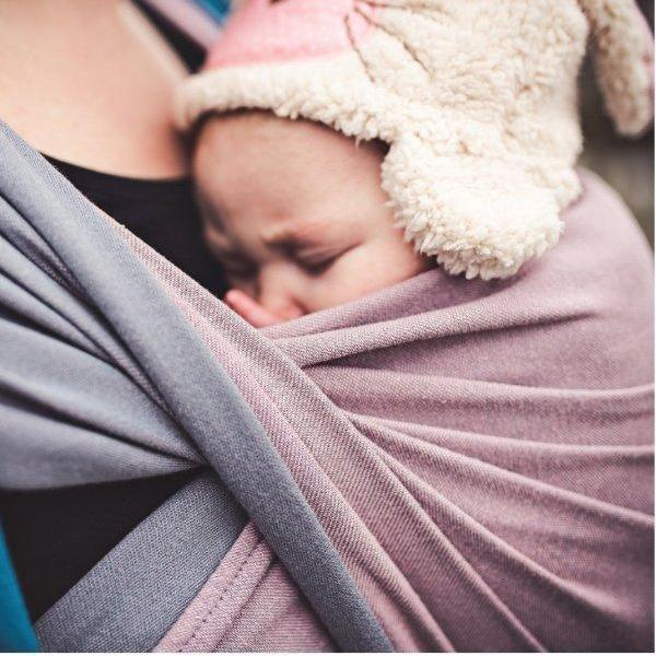 Didymos Baby Woven Wrap Double Face Rosalinde-Woven Wrap-Didymos- Little Zen One US Babywearing baby carriers