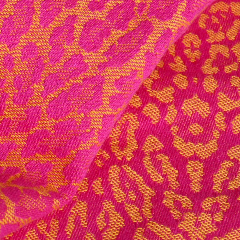 Didymos Baby Woven Wrap Leo Pink-Woven Wrap-Didymos- Little Zen One US Babywearing baby carriers