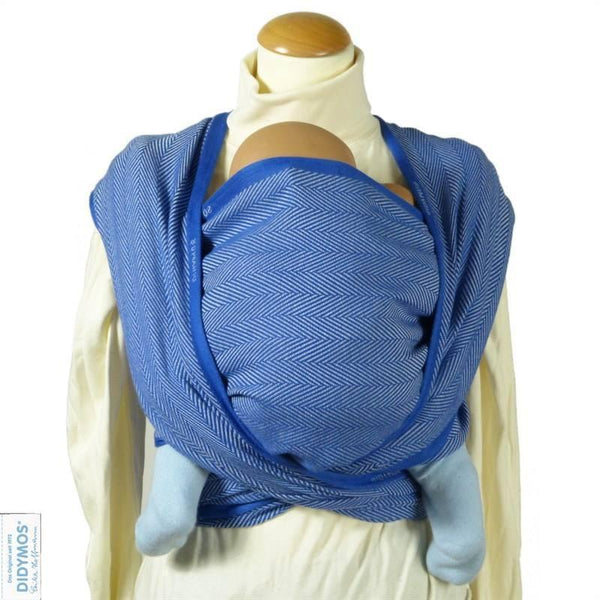 Didymos Baby Woven Wrap Lisca Cornflower-Woven Wrap-Didymos- Little Zen One US Babywearing baby carriers