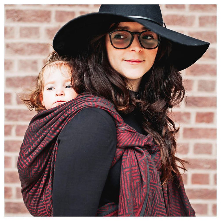 Didymos Baby Woven Wrap Metro Stendhal linen-Woven Wrap-Didymos- Little Zen One US Babywearing baby carriers