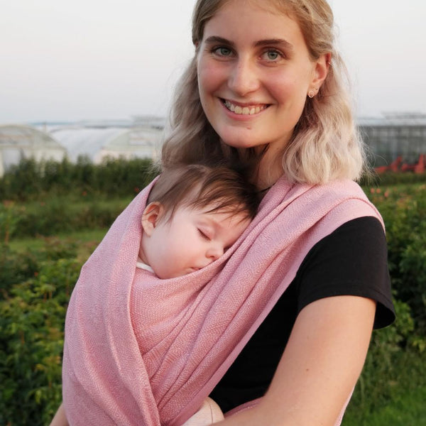 Didymos Baby Woven Wrap Mystic Pink 1975-Woven Wrap-Didymos- Little Zen One US Babywearing baby carriers