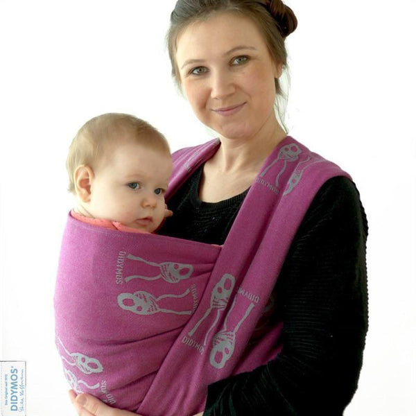 Didymos Baby Woven Wrap Nino Dragon wool-Woven Wrap-Didymos- Little Zen One US Babywearing baby carriers
