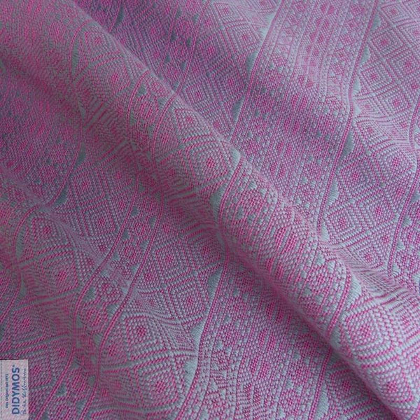Didymos Baby Woven Wrap Platinum Pink-Woven Wrap-Didymos- Little Zen One US Babywearing baby carriers