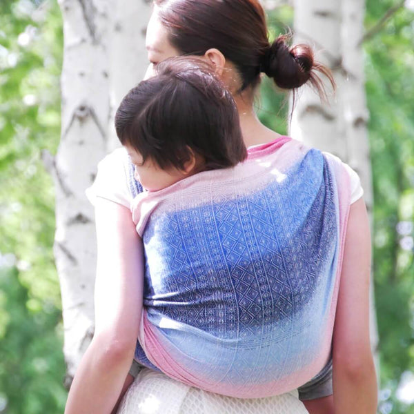 Didymos Baby Woven Wrap Prima Asayake-Woven Wrap-Didymos- Little Zen One US Babywearing baby carriers