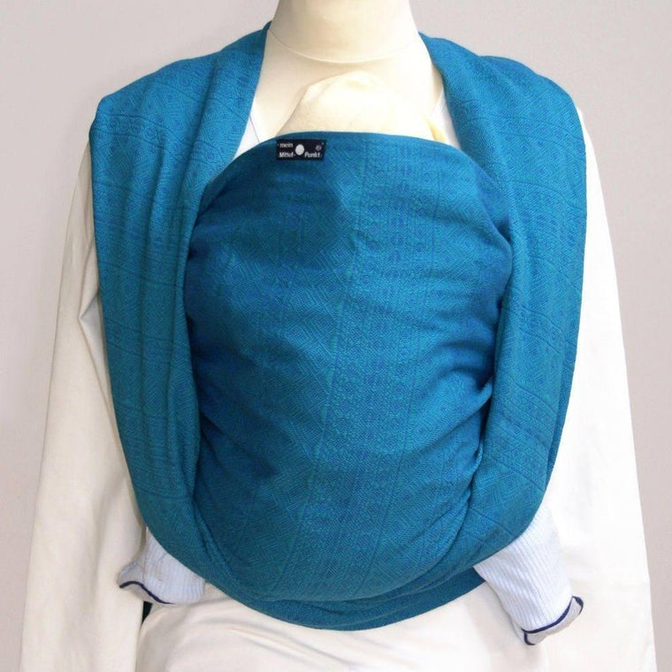 Didymos Baby Woven Wrap Prima Emerald-Woven Wrap-Didymos- Little Zen One US Babywearing baby carriers