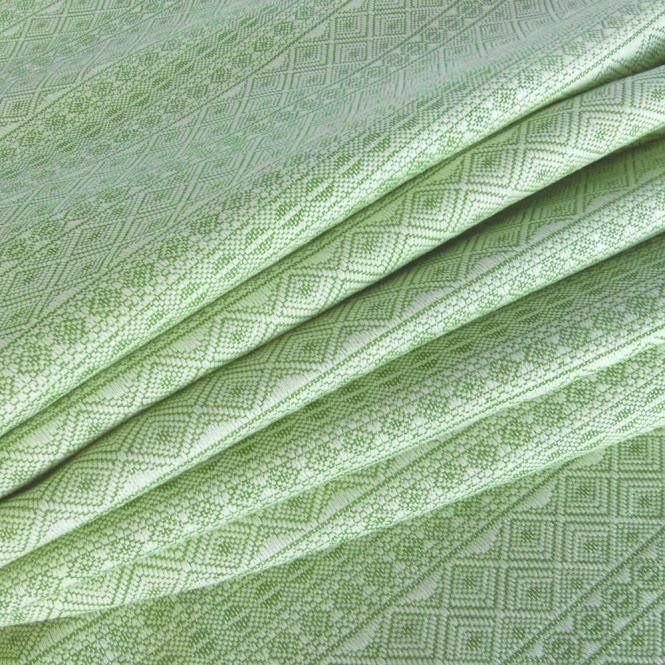 Didymos Baby Woven Wrap Prima Jade tussah silk-Woven Wrap-Didymos- Little Zen One US Babywearing baby carriers