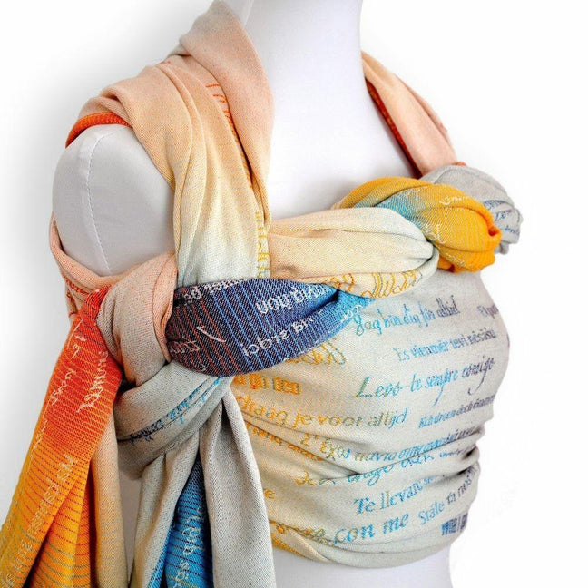 Didymos Baby Woven Wrap Sans Frontieres-Woven Wrap-Didymos- Little Zen One US Babywearing baby carriers