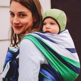 Didymos Baby Woven Wrap Stripes Marie-Woven Wrap-Didymos- Little Zen One US Babywearing baby carriers