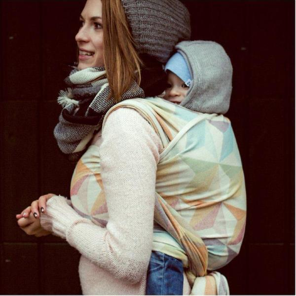 Didymos Baby Woven Wrap Zephyr-Woven Wrap-Didymos- Little Zen One US Babywearing baby carriers