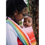 Didymos Baby Wrap Sling Ostheimer Rainbow Magic-Woven Wrap-Didymos- Little Zen One US Babywearing baby carriers